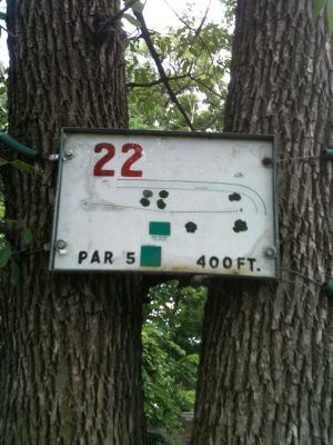 West Park, Main course, Hole 22 Tee pad