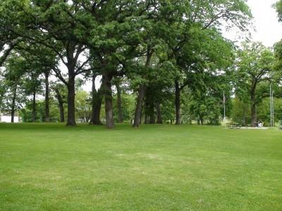 Chautauqua Park, Main course, Hole 7 Tee pad