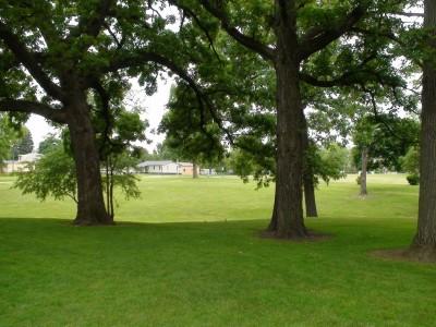 Chautauqua Park, Main course, Hole 8 Tee pad