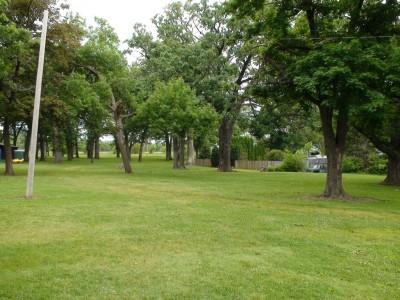 Chautauqua Park, Main course, Hole 1 Tee pad