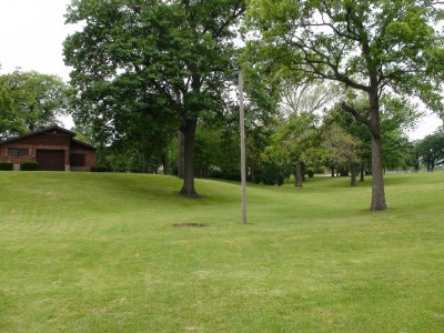 Chautauqua Park, Main course, Hole 10 Tee pad
