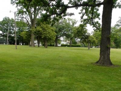 Chautauqua Park, Main course, Hole 11 Tee pad