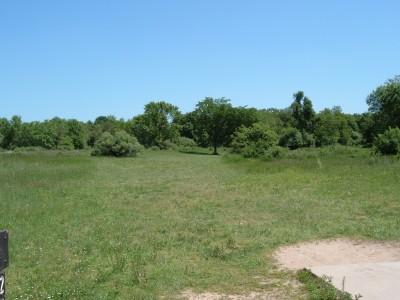 Stony Creek Metropark, Green course, Hole 2 Tee pad