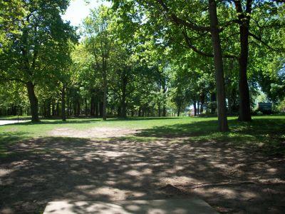 Adler Park, Main course, Hole 5 Tee pad