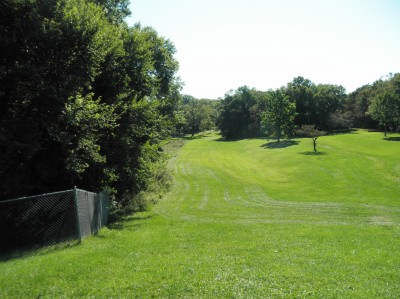 Adler Park, Main course, Hole 9 Long tee pad