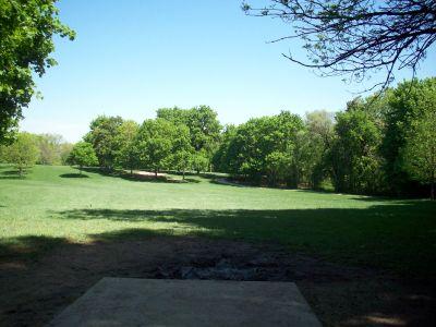 Adler Park, Main course, Hole 7 Tee pad