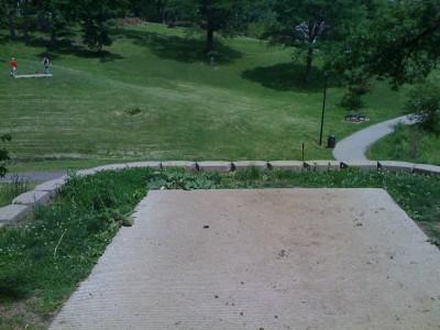 Prospect Park, Main course, Hole 4 Tee pad