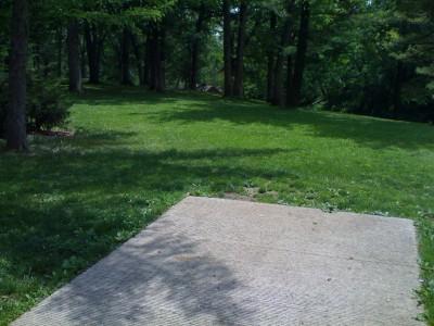 Prospect Park, Main course, Hole 11 Tee pad