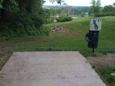 Prospect Park, Main course, Hole 17 Tee pad