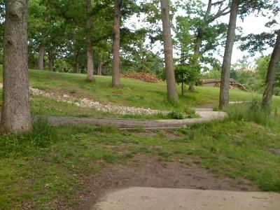 Prospect Park, Main course, Hole 8 Tee pad