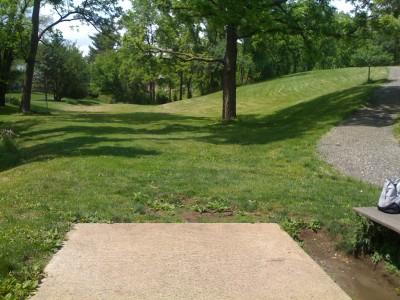 Prospect Park, Main course, Hole 1 Tee pad