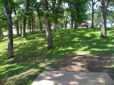 Prospect Park, Main course, Hole 12 Tee pad