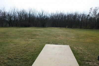 Knoch Knolls Park, Main course, Hole 6 Tee pad