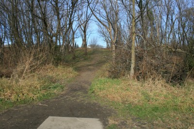 Knoch Knolls Park, Main course, Hole 7 Tee pad