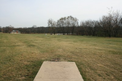 Knoch Knolls Park, Main course, Hole 9 Tee pad
