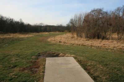 Knoch Knolls Park, Main course, Hole 3 Tee pad