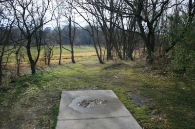 Knoch Knolls Park, Main course, Hole 2 Tee pad