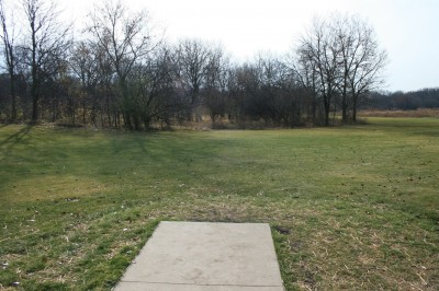 Knoch Knolls Park, Main course, Hole 5 Tee pad