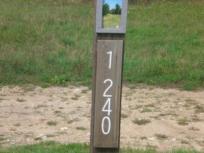 Eagle Ridge / Civic Center, Main course, Hole 1 Hole sign