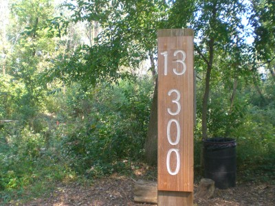 Eagle Ridge / Civic Center, Main course, Hole 13 Hole sign