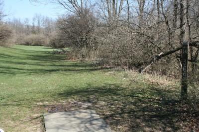 McNaughton Park, Main course, Hole 12 Tee pad