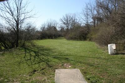 McNaughton Park, Main course, Hole 14 Tee pad