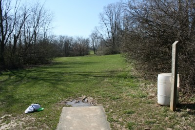 McNaughton Park, Main course, Hole 11 Tee pad