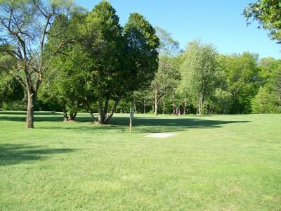 Bay Court Park, Main course, Hole 8 Long tee pad