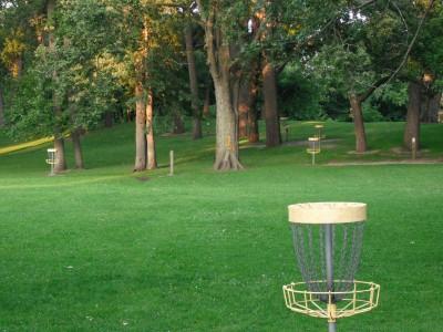 Nims Park, Main course, Hole 18 Putt