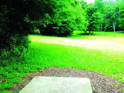 Anna Page Park, East, Hole 17 Tee pad