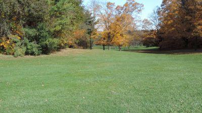 Anna Page Park, East, Hole 1 Tee pad