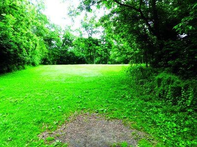 Anna Page Park, East, Hole 7 Tee pad