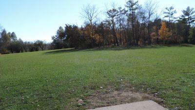 Anna Page Park, East, Hole 11 Tee pad