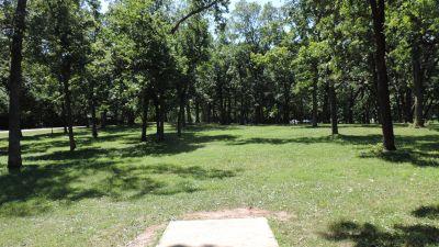 Anna Page Park, West, Hole 15 Tee pad