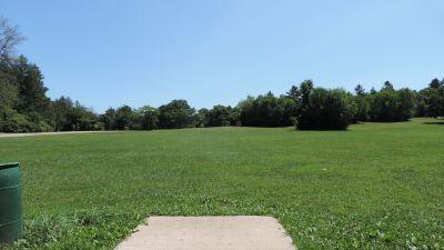 Anna Page Park, West, Hole 13 Tee pad