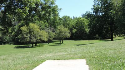 Anna Page Park, West, Hole 7 Tee pad