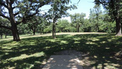 Anna Page Park, West, Hole 5 Tee pad