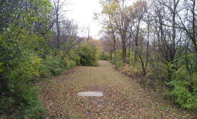 Woodlands, Main course, Hole 9 Long tee pad