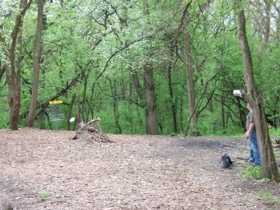 Campton Hills, Main course, Hole 4 Short approach
