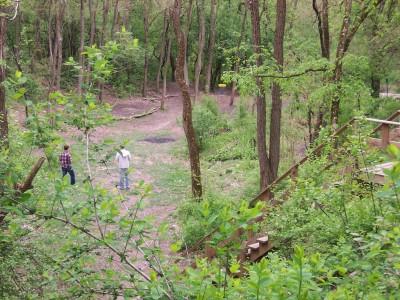 Campton Hills, Main course, Hole 9 Short tee pad