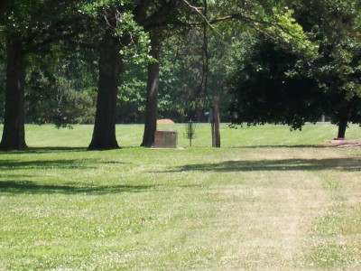 Sinnissippi Park, Main course, Hole 18 Midrange approach
