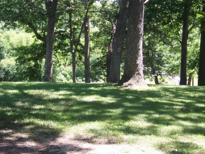 Sinnissippi Park, Main course, Hole 3 Tee pad