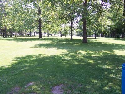 Sinnissippi Park, Main course, Hole 15 Tee pad