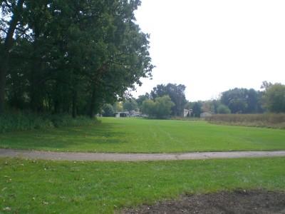 Shady Oaks Park, Main course, Hole 14 Tee pad