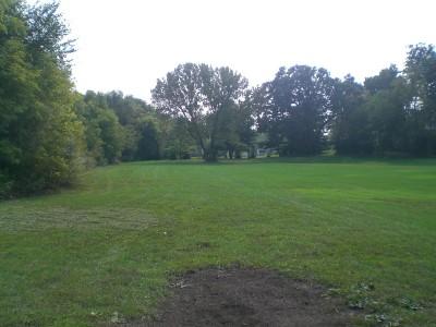 Shady Oaks Park, Main course, Hole 16 Tee pad