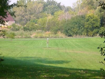 Shady Oaks Park, Main course, Hole 17 Midrange approach