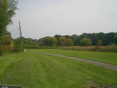 Shady Oaks Park, Main course, Hole 10 Tee pad