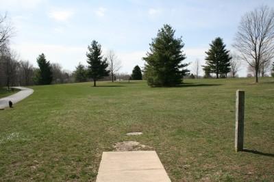 Washington Park, Main course, Hole 8 Tee pad