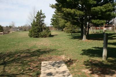 Washington Park, Main course, Hole 1 Tee pad