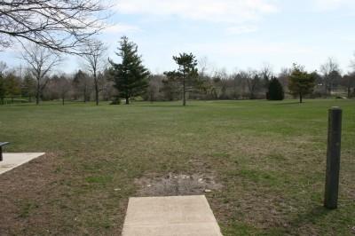 Washington Park, Main course, Hole 5 Tee pad